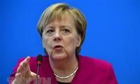 Angela Merkel betont Zukunft der großen Koalition