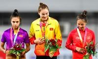 Läuferin Quach Thi Lan holt Gold in der 400 Meter Disziplin