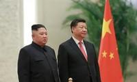 Spitzenpolitiker Nordkoreas führen Gespräche mit Chinas Staatspräsident Xi Jinping