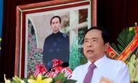 Vorsitzender der vaterländischen Front Vietnams Tran Thanh Man nimmt an Feier vom Hoa Hao-Buddhismus teil