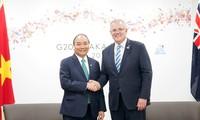 Nguyen Xuan Phuc führt bilaterale Gespräche zur Zusammenarbeit mit anderen G20-Ländern