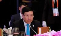 Vizeaußenminister Pham Binh Minh leitet Außenminister-Konferenz zur Zusammenarbeit des Mekongs und Ganges