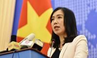 Außenamtssprecherin: China soll Schiffe aus der ausschließlichen Wirtschaftszone Vietnams abziehen