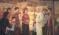 """Vietnamesisches Kunstmuseum eröffnet Ausstellung über """"Denken an Ho Chi Minh"""""""