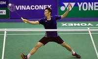 Internationaler Federballwettbewerb Vietnam Open 2019: Tien Minh siegt gegen seinen französischen Gegner