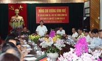 Vizepremierminister Vuong Dinh Hue auf Dienstreise in Gia Lai