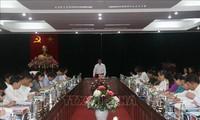 Leiter der Personalabteilung der Partei Pham Minh Chinh besucht Son La