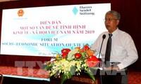 Forum über sozialwirtschaftliche Lage Vietnams 2019