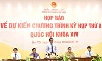 Eröffnung der Herbstsitzung des Parlaments am kommenden Montag