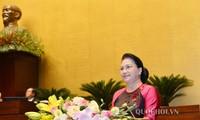 Eröffnung der Parlamentssitzung in Hanoi