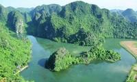 Festlegung mit Grenzsteinen für das Welterbe von Trang An
