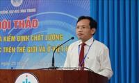 Forum über Bewahrung und Aufsicht der Qualität der Erziehung in den Hochschulen in Vietnam und in der Welt