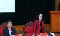 Leiterin der Abteilung für Volksaufklärung der Partei Truong Thi Mai trifft Leiter vietnamesischer Vertretung im Ausland