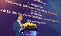 Feier zum 25. Jahrestag der UN-Seerechtskonvention 1982 (UNCLOS)