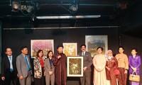Vietnamesische Bilderausstellung in Indien