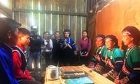 Hochzeitsritual der Volksgruppe der Bo Y in Lao Cai
