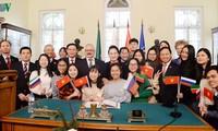 Parlamentspräsidentin Nguyen Thi Kim Ngan besucht Universität Kasan