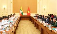 Gemeinsame Erklärung zwischen Vietnam und Myanmar