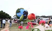Eröffnung des Pressezentrums für Blumen-Festival Da Lat