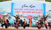 Traditionelle Sport- und Kulturereignisse am Siegesdenkmal in Dien Bien Phu