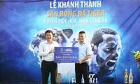 Tiger-Bier engagiert sich für Amateur-Fußball in Vietnam