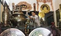Bewahrung der Kupfergießerei im Dorf Tong Xa in der Provinz Nam Dinh