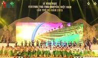 Ankündigung vom Tee-Festival in Vietnam