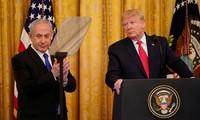 US-Präsident Donald Trump macht Friedensplan für Nahen Osten bekannt