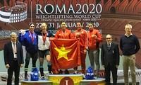 Hoang Thi Duyen gewinnt Goldmedaille im Gewichtsheben in Rom