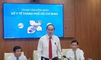 Einweihung zwei Smart-Zentren der Medizin und Erziehung in Ho Chi Minh Stadt