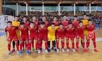 Vietnamesische Futsalmannschaft verliert 1:3 gegen Uma Antaquera in Spanien