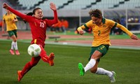 Australien ist Gegner der vietnamesischen Fußballmannschaft der Frauen
