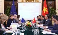 Erste Sitzung der Gruppen für politische Angelegenheiten zur Umsetzung der Zusammenarbeit zwischen Vietnam und der EU