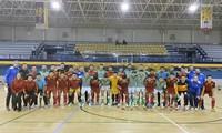Vietnamesische Futsalmannschaft unterliegt Real Betis