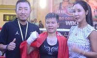 Thu Nhi schreibt Geschichte für vietnamesischen Boxsport der Frauen