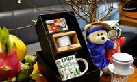 Werbung für vietnamesische Kultur auf Kaffee-Produkte
