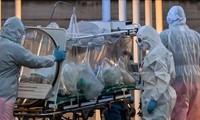 Lage der Pandemie COVID-19 auf der Welt