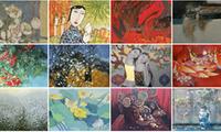 Ausstellung und Auktion der Bilder per Online zur Unterstützung der Bekämpfung von Covid-19