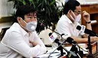 Ho Chi Minh Stadt bemüht sich, die Pandemie von Covid-19 einzudämmen
