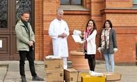 Vietnamesen in Deutschland zeigen Solidarität bei COVID-19-Pandemie