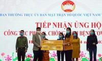Fußballspieler von FC Hanoi spenden einen Tageslohn zur Bekämpfung der COVID-19-Pandemie