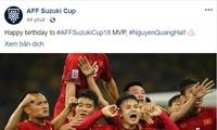 AFF gratuliert Quang Hai zum Geburtstag
