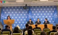 Vorzeitiger Monatsbericht von Vietnam als Vorsitzender des Weltsicherheitsrates