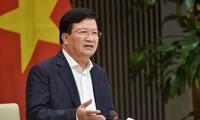 Vizepremierminister Trinh Dinh Dung: Reisexport aber mit Sicherheit von Nahrungsmitteln