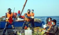 Erfolgreiches Ende der gemeinsamen Inspektion der Fischerei-Verbände zwischen Vietnam und China