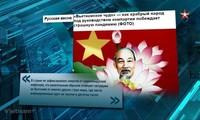 Vietnamesische Kampagne gegen COVID-19-Pandemie wird in russischer Fernsehsendung gezeigt