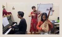 """Veröffentlichung des Videos """"Ein Tag mit den Künstlern des vietnamesischen Theaterhauses und Freunden"""""""