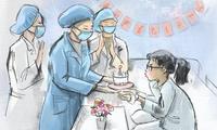 "Bilder über ""Sicherheit Zuhause, Dank an Ärzten"""