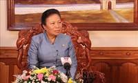 Glückwunschtelegramm zum 130. Geburtstag Ho Chi Minhs