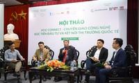 Vietnamesische Unternehmen werden mit globalen Wertschöpfungsketten durch den Technologientransfer verbunden